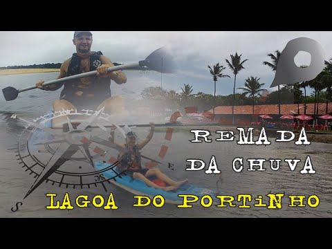 Remada da chuva na Lagoa do Portinho