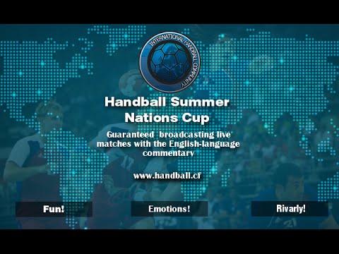 Handball Summer Nations Cup 2016 - group stage: Croatia - Macedonia