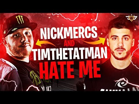 NICKMERCS AND TIMTHETATMAN HATE ME! FUNNIEST VIDEO IVE EVER HAD! (Fortnite: Battle Royale)