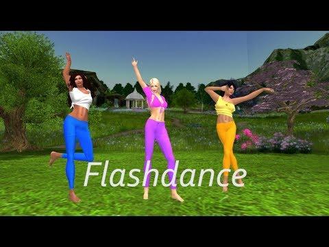 Flash Dance - SLDC Showcase 2018 (Second Life)