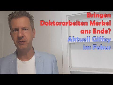 Brechen Doktorarbeiten Merkel noch Genick? Aktuell Giffey im Fokus