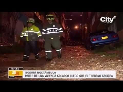 Emergencia por deslizamiento en el centro de Bogotá   CityTv
