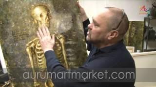 """Презентация видео-урока """"Живописное изображение черепа человека"""""""