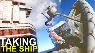 TAKING THE CARGO SHIP - RUST (VANILLA)