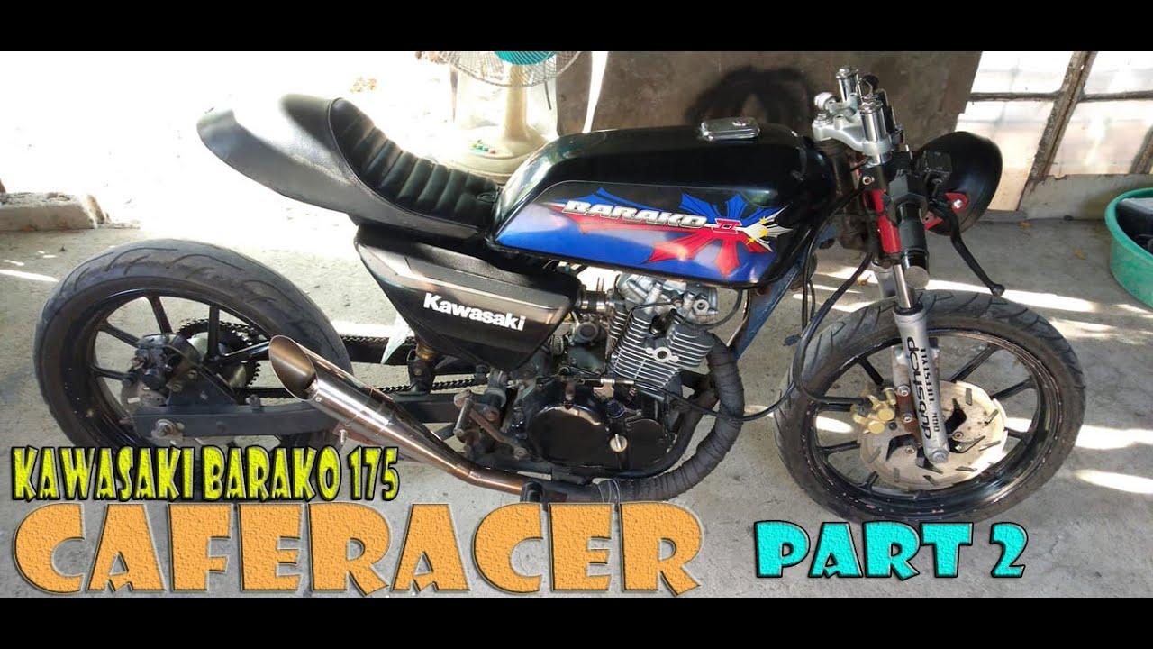 Kawasaki Barako 175 Caferacer Part 2