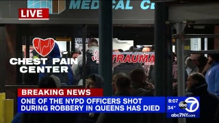 NYPD officer shot and killed during robbery in Queens