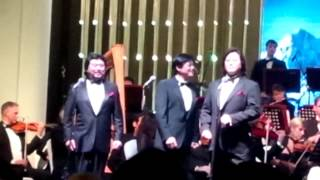 China's Three Tenors sing Pilgrim Road