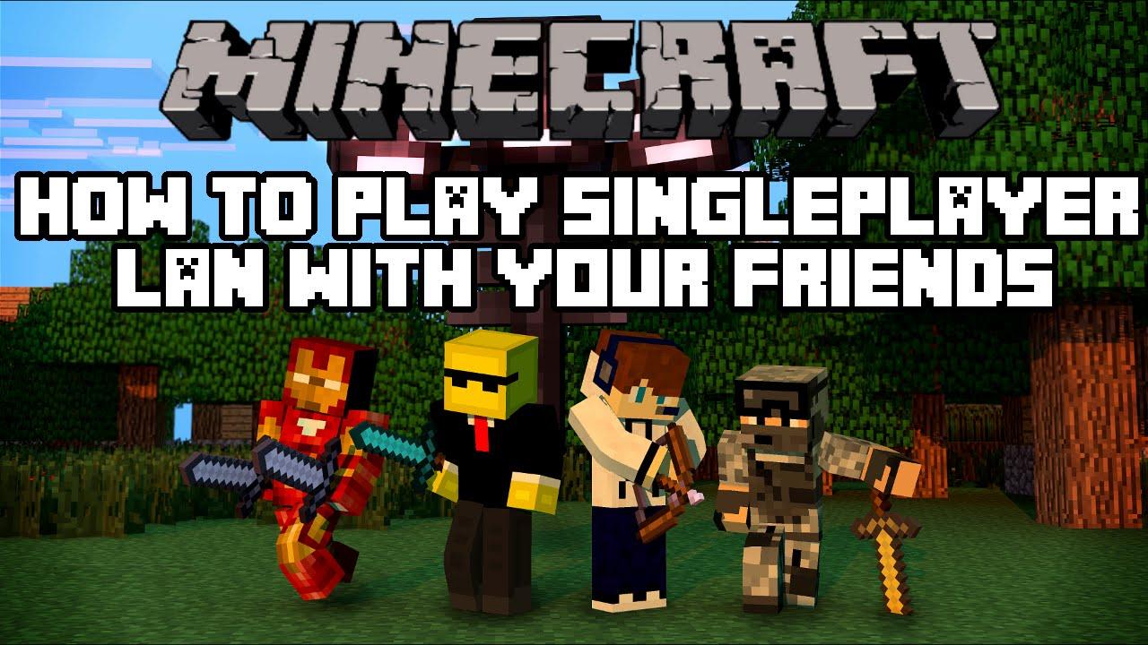 How To Play Minecraft Lan Singleplayer With Your Friends Working - Minecraft lan spielen uber hamachi