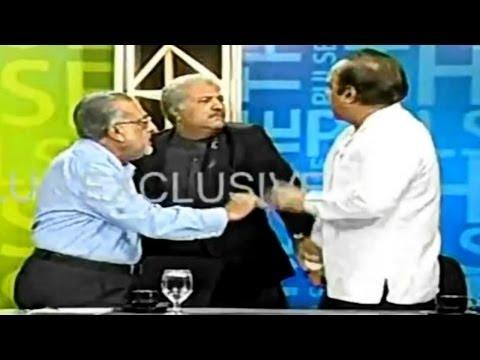 Pakistani Politicians Fight On Live TV