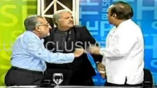Pakistani Politicians Fight On Live TV !!!