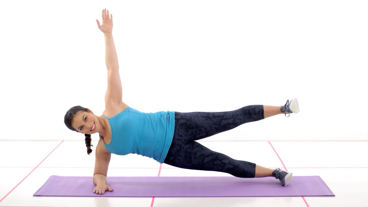 60 Seconds To Fit: Side Plank | 60 Seconds To Fit ...