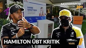 Geldgier! Hamilton kritisiert FIA & F1 -- Formel 1 2020 (VLOG)