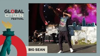 Big Sean Performs 'Bounce Back' | Global Citizen Festival NYC 2017'