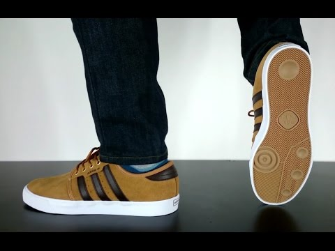 purchase cheap f58a3 bcaa5 ADIDAS SKATEBOARDING SEELEY mesa brown ft white