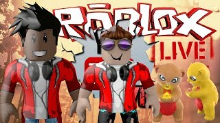 🔴 ROBLOX LIVE-KNOWING GAMES OF THE THUÊZITOS-BORA PLAY 🔴