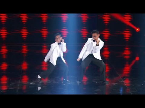 America's Got Talent 2015 S10E13 Judge Cuts - The Gentlemen Dance Duo