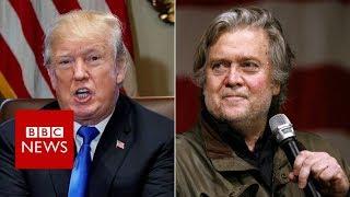 Michael Wolff's Book: Trump lawyers threaten ex-aide Bannon - BBC News