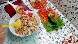Салат из кукурузы и фасоли .Легко и просто .