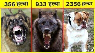 अगर आपको ये कुत्ते दिखे तो जान बचा कर भागे और मदद मांगे | MOST DANGEROUS DOGS BREEDS IN THE WORLD