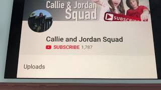 Shoutout To Callie And Jordan Squad