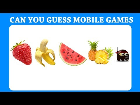 Top Mobile Games Emoji Challenge!!! Guess Pubg | Candy Crush  Fruit Ninja etc | Brain Puzzle