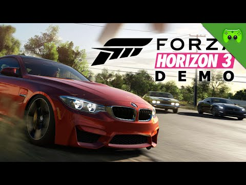 FORZA HORIZON 3 Demo durchgespielt!