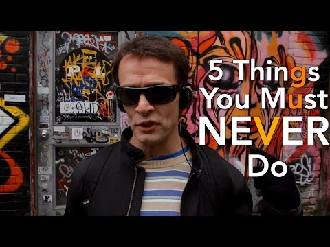 Inline Skating 5 Things To NEVER Do!!