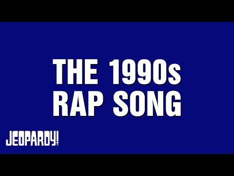 MC Alex Trebek Unleashes Nineties Hip-Hop Trivia on 'Jeopardy!'