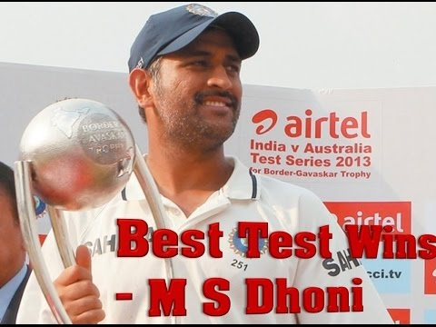 Best Test wins under Dhoni Captaincy