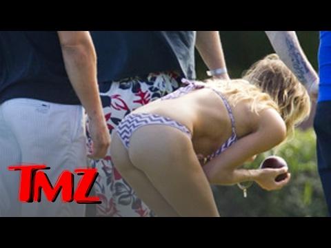 Leann Rimes -- Bocce Ball in a THONG! | TMZ