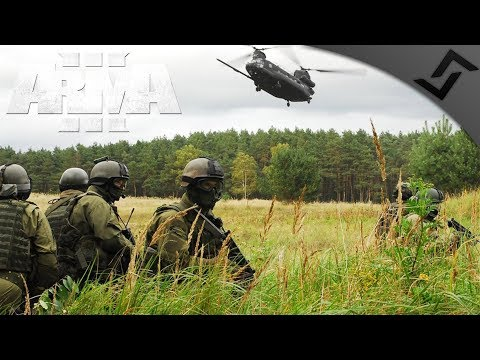 Navy SEAL Chinook Extract Under Fire - ArmA 3 Zeus Gameplay - Tanoa Incursion Part 2
