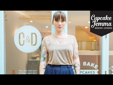 A Sneak Peak At The New Crumbs & Doilies Cake Shop! | Cupcake Jemma