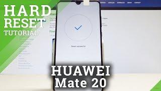 How to Hard Reset HUAWEI Mate 20 - Factory Reset / Reset Code