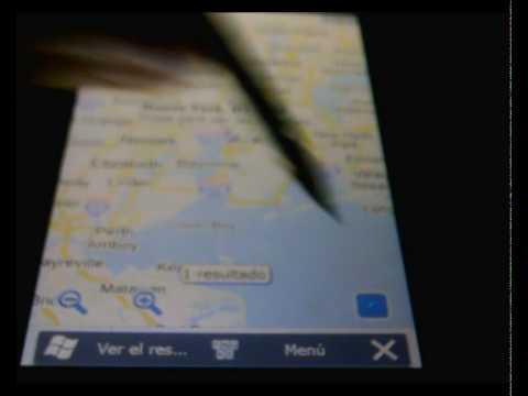 Google Maps en Acer F900