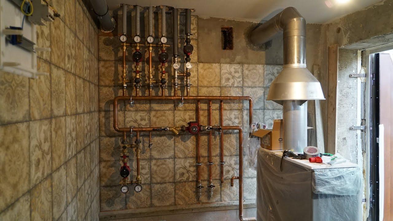 Отопление водоснабжение котельная: