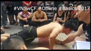 Kỷ lục hít đất Việt Nam - Vô địch hít đất giải VNSwCF Offline 2017 #Basic