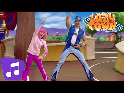 Lazy Town | I Can Dance Music Video