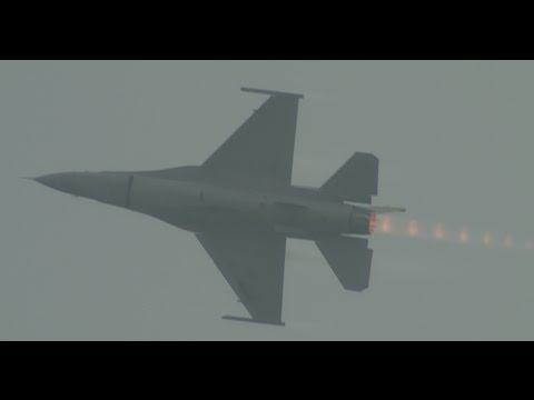 Singapore Airshow 2016 - USAF F-16C Fighting Falcon