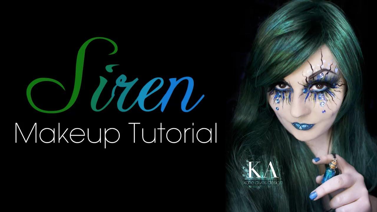 Evil Siren Mermaid Makeup