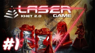 cKnoor and IB play Khet 2.0 - Part 1
