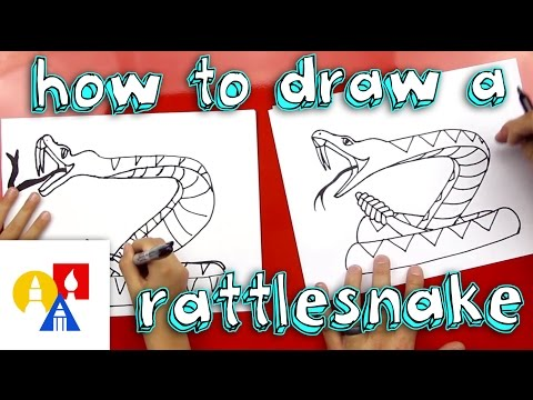How To Draw A Rattlesnake thumbnail