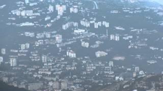 вид на г. Ялта с горы Ай-Петри(, 2014-07-16T20:55:48.000Z)