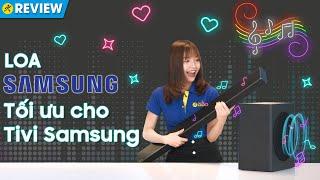 Loa thanh Samsung: có bluetooth, tối ưu cho tivi Samsung QLED 2020 (HW-Q60T) • Điện máy XANH
