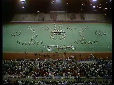 1984 George Rogers Clark High School Marching Band at MTSU Contest of Champions