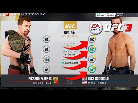 EA SPORTS UFC 3 T.2#19 | VS OVERALL MÁXIMO (+100)