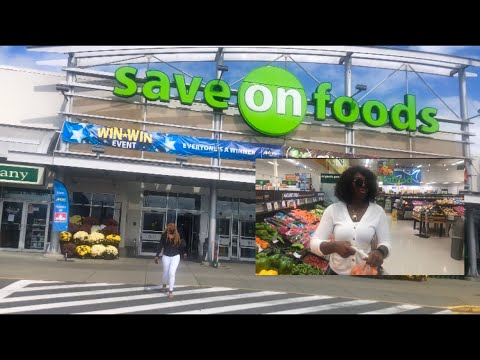WHAT IS INSIDE SAVE ON FOODS IN CANADA//LETZ GO SHOPPING