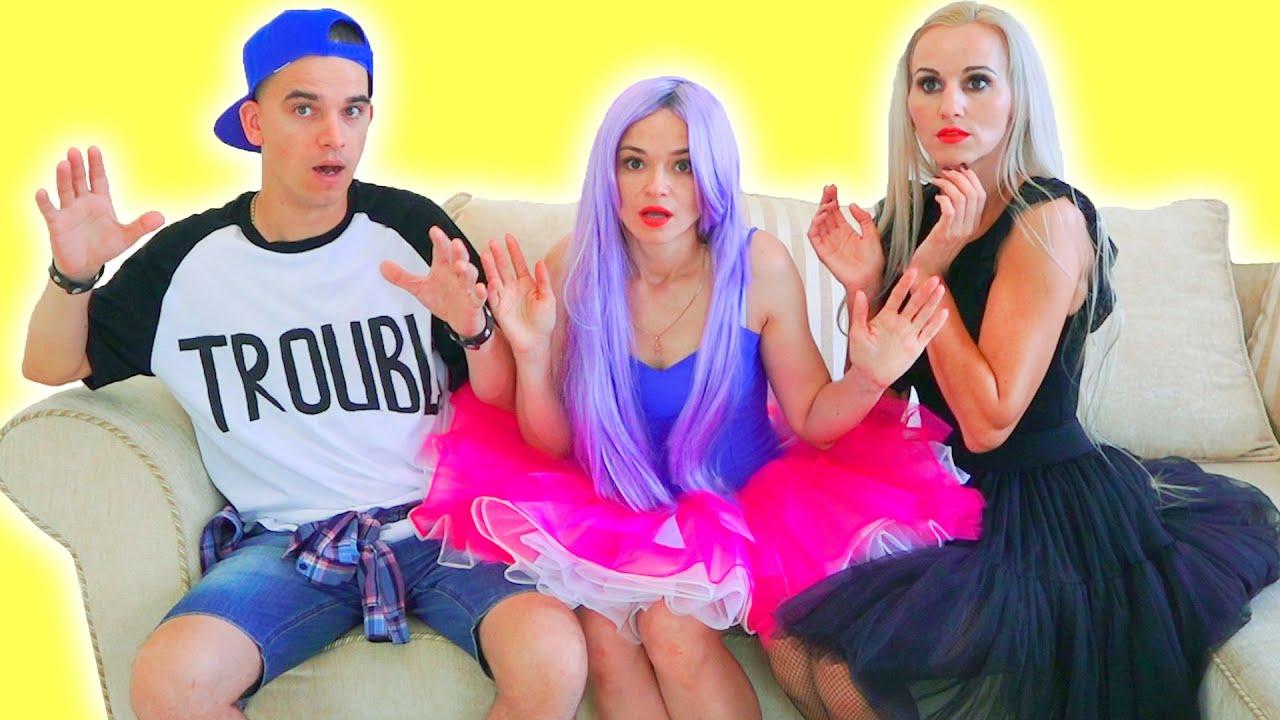 Куклы ЛОЛ Мария, Вика и Панки в реальной жизни!!! Сериал для подростков про любовь  Real Life LOL