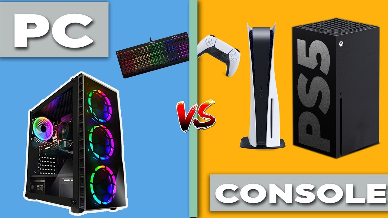 Gaming PC vs Console PS5 & XBOX-Which is Best