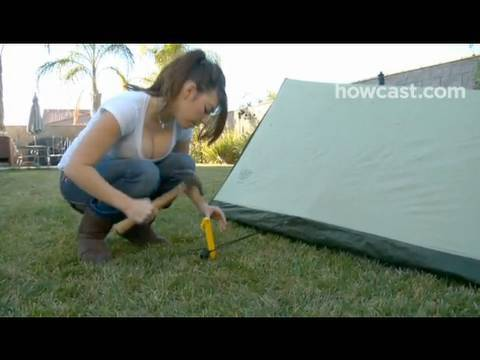 & How to Set Up an A-Frame Tent - YouTube