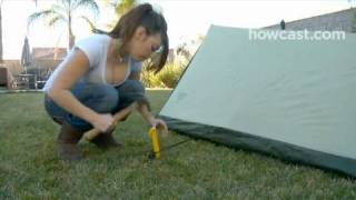 How to Set Up an A-Frame Tent